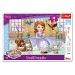 Trefl-31204 Puzzle Cadre - Princesse Sofia