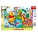 Trefl-31209 Puzzle Cadre - Winnie l'Ourson