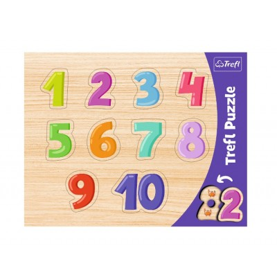 Trefl-31304 Puzzle Cadre - 1-10