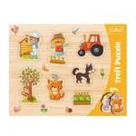 Trefl-31306 Puzzle Cadre - Village