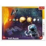 Trefl-31342 Puzzle Cadre - Système Solaire