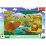 Trefl-31357 Puzzle Cadre - Savane