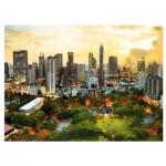 Trefl-33060 Coucher de Soleil à Bangkok