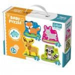 Trefl-36077 4 Baby Puzzles