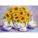 Trefl-37293 Hardwick Trisha - Sunflowers