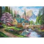 Trefl-37327 Woodland Seclusion