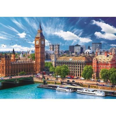 Trefl-37329 Sunny Day in London