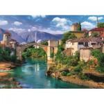 Trefl-37333 Vieux Pont à Mostar, Bosnie Herzégovine