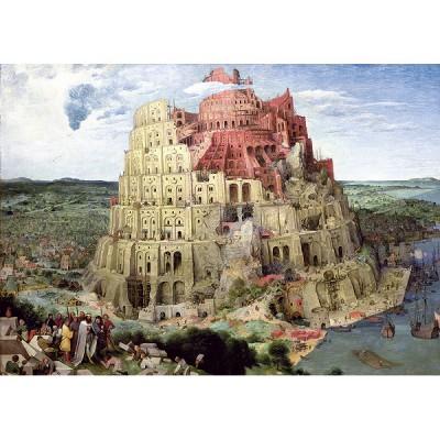 Trefl-45001 Brueghel - La Tour Babel