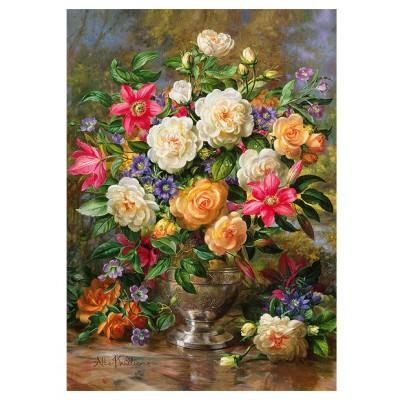 Trefl-45003 Fleurs pour la Reine Elisabeth