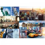 Trefl-45006 Collage - New York