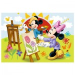 Trefl-54149-19554 Mini Puzzle - Mickey