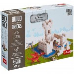 Trefl-60979 Build with Bricks - Le Château
