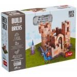 Trefl-60980 Build with Bricks - La Forteresse