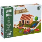 Trefl-60982 Build with Bricks - Cottage
