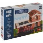 Trefl-60983 Build with Bricks - La Caserne des Pompiers
