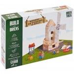 Trefl-60984 Build with Bricks - Le Moulin