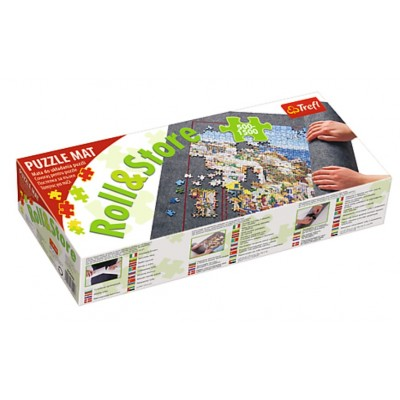 Trefl-60985 Roll & Store 500 - 1500 Pièces