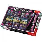 Trefl-90308 3 Histoires, 3 tailles : Monster High