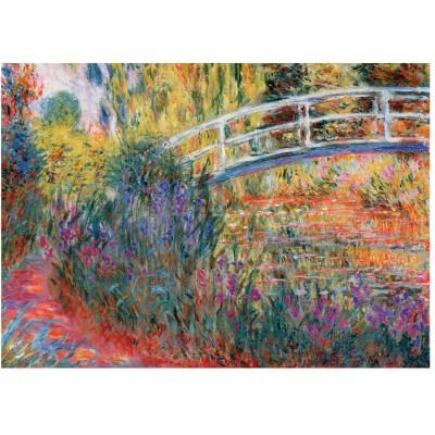 Wentworth-1210 Puzzle en Bois - Claude Monet : Le Pont Japonais