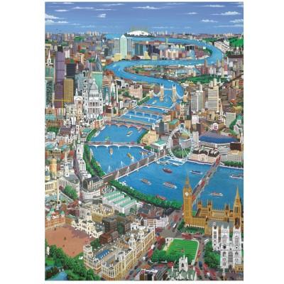 Wentworth-4202 Puzzle en Bois - London - The Thames
