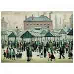 Wentworth-560604 Puzzle en Bois - Market Scene, Northern Town, 1939