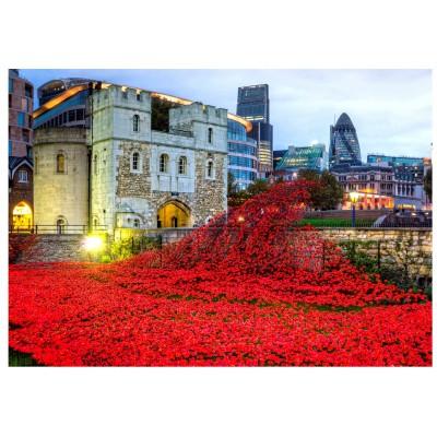 Wentworth-693605 Puzzle en Bois - Tower of London Remembrance
