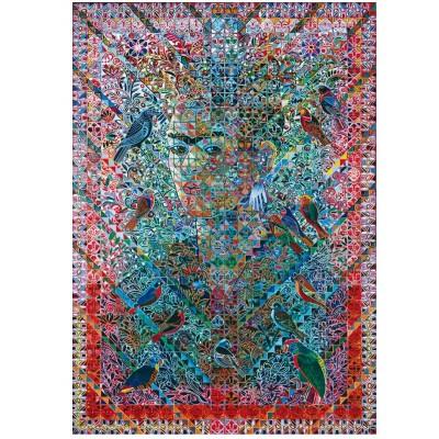Wentworth-761613 Puzzle en Bois - Kahlo de Coayoacán