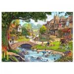 Wentworth-780308 Puzzle en Bois - Full Stream Ahead