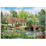 Wentworth-780408 Puzzle en Bois - April Cottage