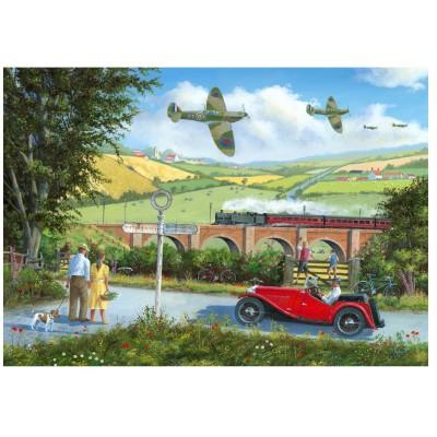 Wentworth-801209 Puzzle en Bois - Spitfires
