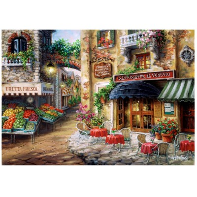 Wentworth-801305 Puzzle en Bois - Buon Appetito