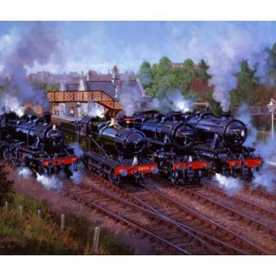 Wentworth-821809 Puzzle en Bois - Severn Valley Railway 50th Anniversary