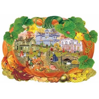 Wentworth-840201 Puzzle en Bois - Victoriana Pumpkin