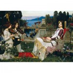 Wentworth-840904 Puzzle en Bois - John William Waterhouse - Saint Cecilia