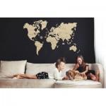 Wooden-City-WM505 Puzzle en Bois - Carte du Monde XXL