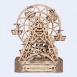 Wooden-City-WR306 Puzzle 3D en Bois - Grande Roue