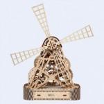 Wooden-City-WR307 Puzzle 3D en Bois - Moulin