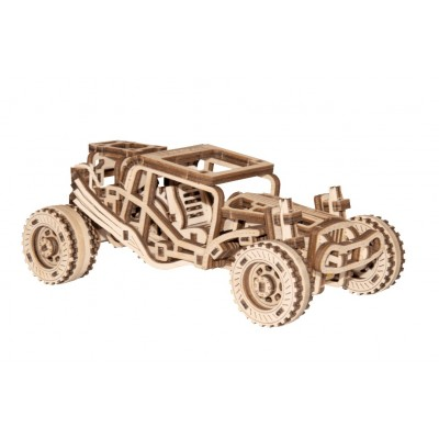 Wooden-City-WR336-8688 Puzzle 3D en Bois - Buggy