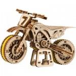 Wooden-City-WR343 Puzzle 3D en Bois - Motocross