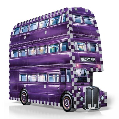 Wrebbit-3D-0507 Puzzle 3D - Harry Potter : The Knight Bus
