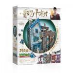 Wrebbit-3D-0508 Puzzle 3D - Harry Potter - Ollivander Baguettes Magiques et Scribbulus