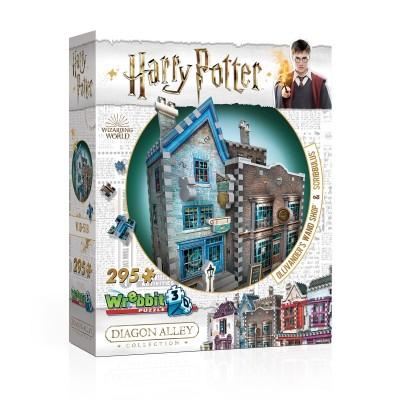 Wrebbit-3D-0508 Puzzle 3D - Harry Potter (TM) - Ollivander Baguettes Magiques et Scribbulus