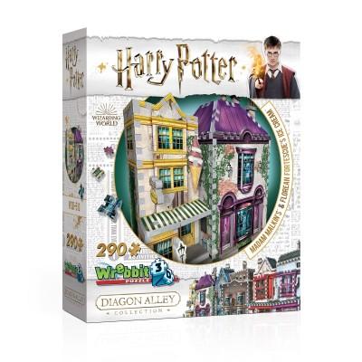 Wrebbit-3D-0510 Puzzle 3D - Harry Potter (TM) - Madame Guipure et Glaces Florian Fortarôme