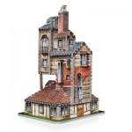 Wrebbit-3D-1011 Puzzle 3D - Harry Potter : La Maison des Weasley