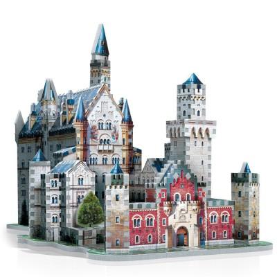 Wrebbit-3D-2005 Puzzle 3D - Allemagne : Château de Neuschwanstein