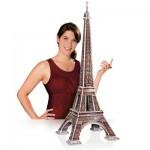 Wrebbit-3D-2009 Puzzle 3D - Paris : La Tour Eiffel