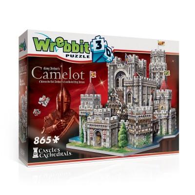 Wrebbit-3D-2016 Puzzle 3D - Camelot, Château du Roi Arthur