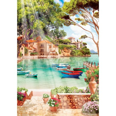 Art-Puzzle-4367 Peaceful Good Morning