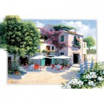 Art-Puzzle-5079 Cafe Villa